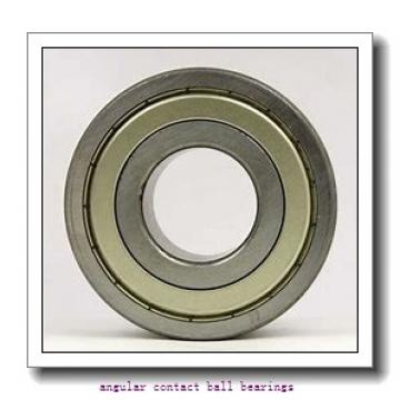 75 mm x 130 mm x 25 mm  75 mm x 130 mm x 25 mm  SKF SS7215 CD/P4A angular contact ball bearings
