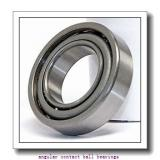 50 mm x 90 mm x 30,2 mm  50 mm x 90 mm x 30,2 mm  ZEN 3210-2RS angular contact ball bearings