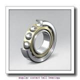 45 mm x 84 mm x 39 mm  45 mm x 84 mm x 39 mm  Fersa F16082 angular contact ball bearings